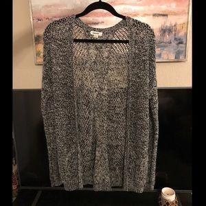 Garage Grey Knitted Cardigan